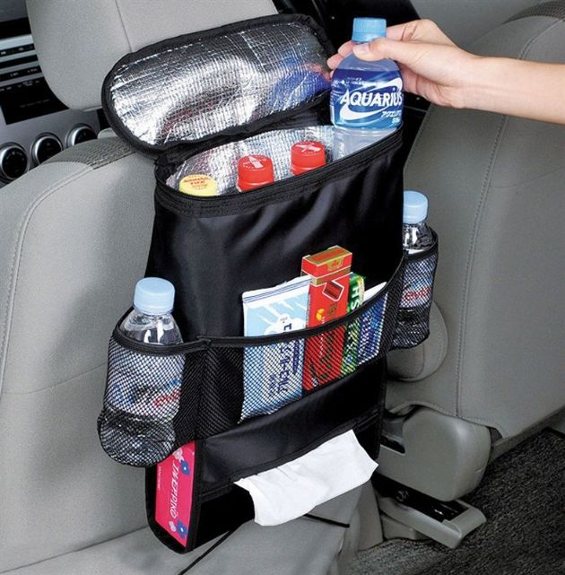 Streetwize Seat Organiser with Cool Bag, Vehicle Storage and Organiser - Grasshopper Leisure